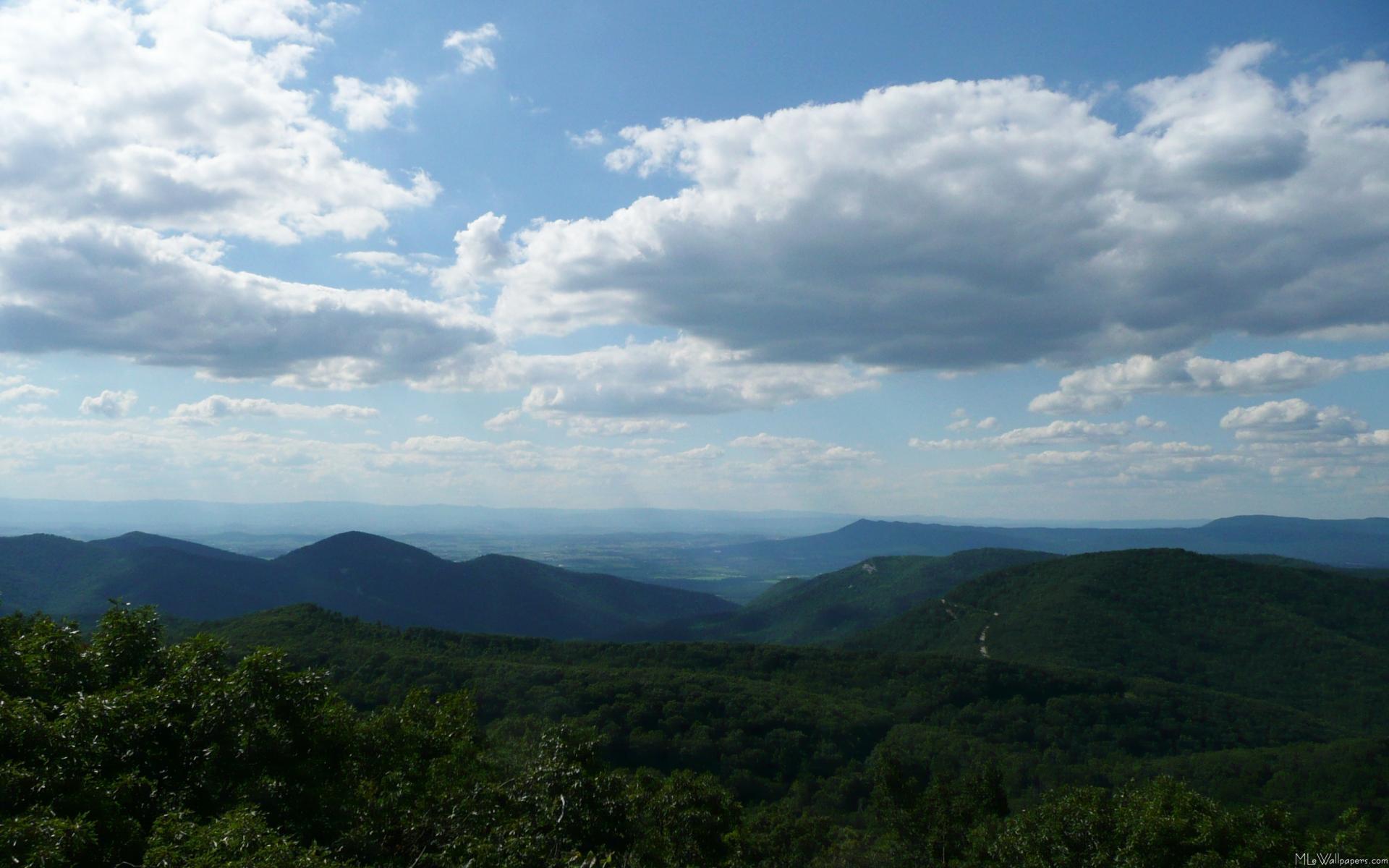 appalachian blue ridge mountains wallpaper - photo #5