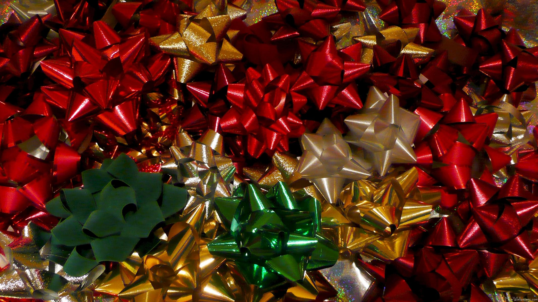 Mlewallpapers Com Christmas Bows