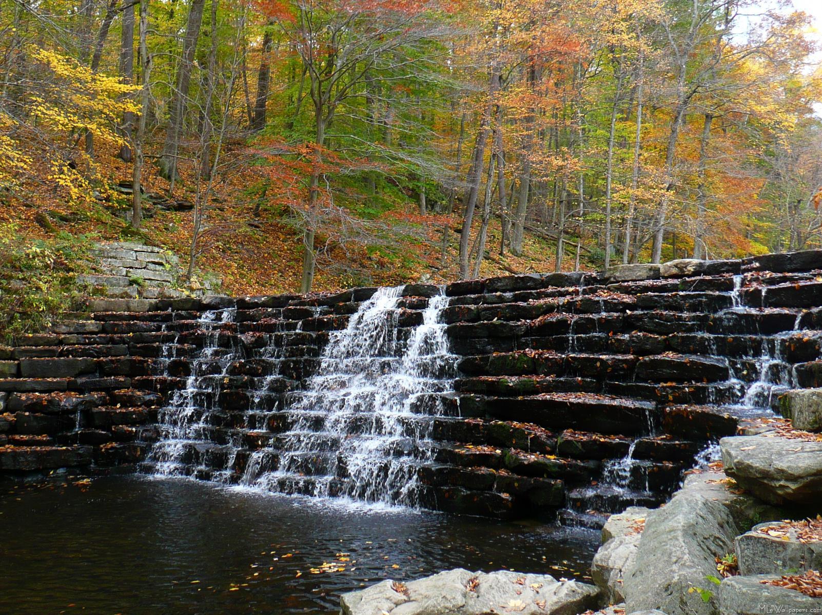 Calendar Wallpaper Windows : Mlewallpapers waterfall at laurel hill state park i