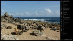 Rock Monuments on Aruban Coast